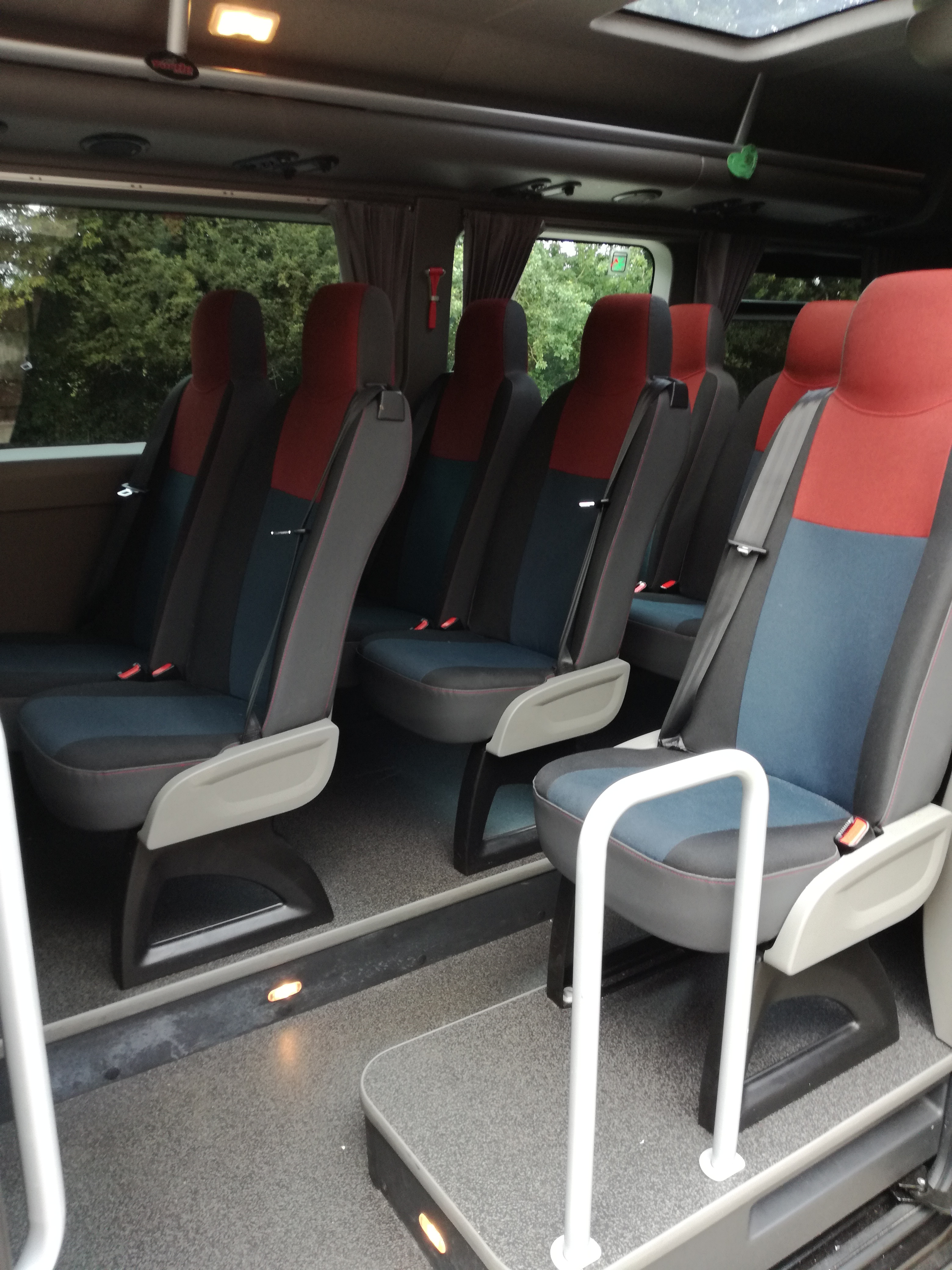 Minibus hire for corporate events